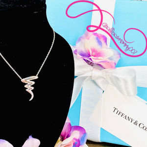 NWOT T&Co. Paloma Picasso Scribble ZigZag Necklace